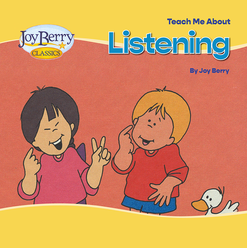 Teach Me About Listening Book Cover